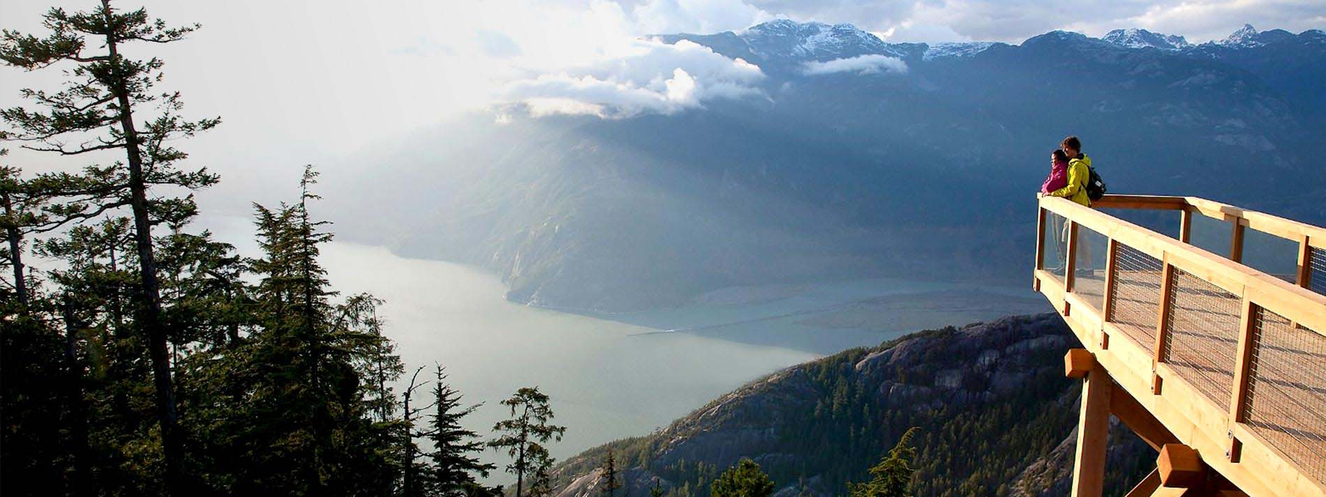 Sea to Sky Gondola in Squamish, BC