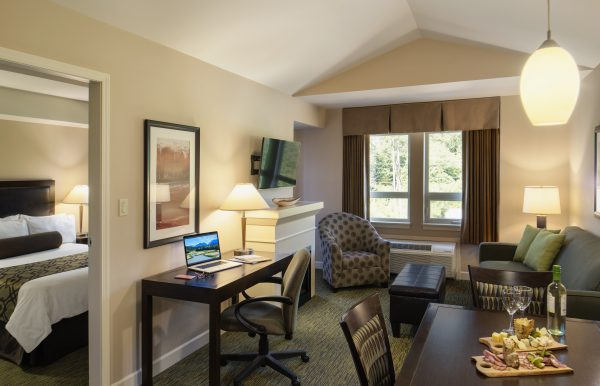 One bedroom suite at Executive Suites Resort Squamish