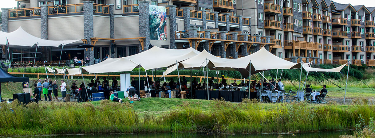 Outdoor Event at Executive Suites Squamish