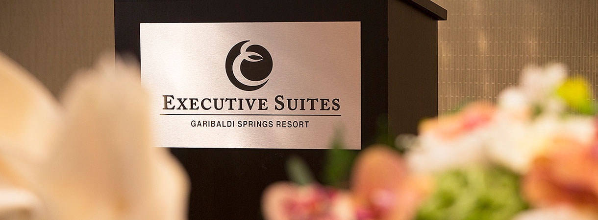 Meeting room detail at Executive Suites Squamish